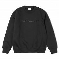 CARHARTT WIP Hooded Sweatshirt Men black/black Herren Kapuzenpullover schwarz/schwarz
